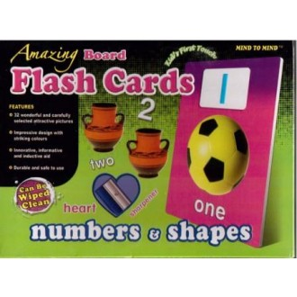 Flash cards Numbers&Shapes