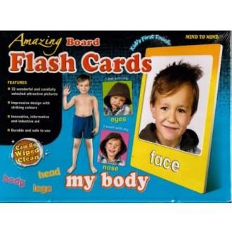 Flash cards My body