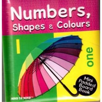 Книжка-словник Числа, форми і кольори
