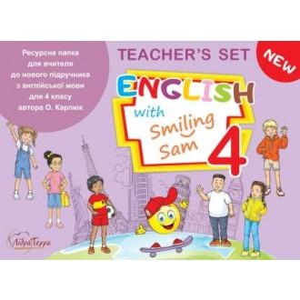 Ресурсна папка для вчителя 4 клас English with Smiling Sam НУШ