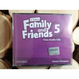 Family & Friends 5 Class Audio CD 2Е