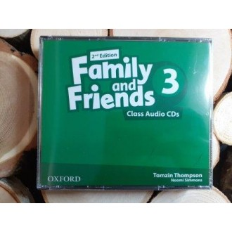 Family & Friends 3 Class Audio CD 2Е
