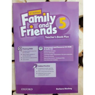 Family & Friends 5 Teacher's Book Plus Pack 2E