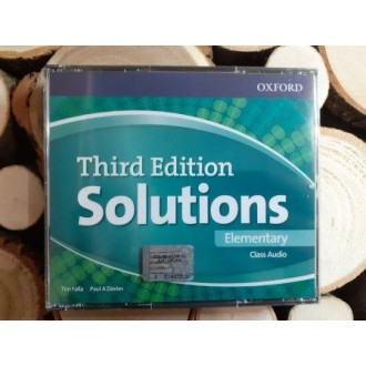 Solutions Elementary Class Audio CDs (4 Discs) 3rd edition