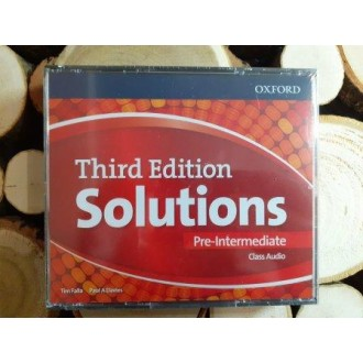 Solutions Pre-Intermediate Class Audio CDs (4 Discs) 3rd edition
