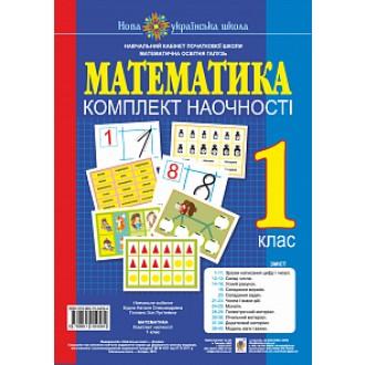 Математика 1 клас Комплект наочності НУШ