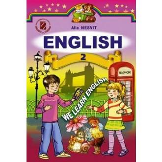 Генеза підручник  2 клас англійська мова Несвіт