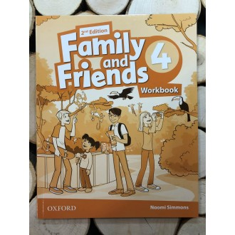 family-and-friends-2nd-Edition-4-work-book-oxford