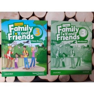 Family and Friends 3 комплект