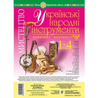 Українські народні інструменти Комплект наочності