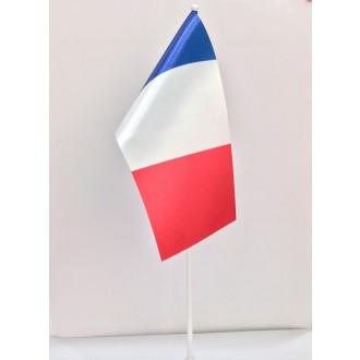 Прапор Франція 10*20 (без підставки)
