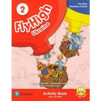 Fly High 2 Ukraine Activity Book + CD