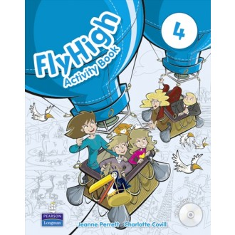 Fly High 4 Activity Book with CD-ROM