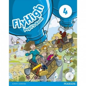 Fly High 4 Pupil's Book + Audio CD