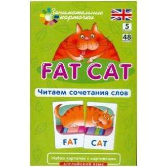 Английский язык. Толстый кот (Fat Cat). Уровень 5. Набор карточек с картинками