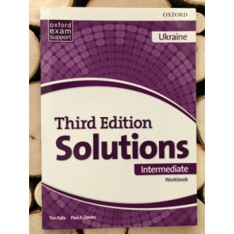 Solutions Intermediate Workbook and Audio Pack (UA) 3rd edition
