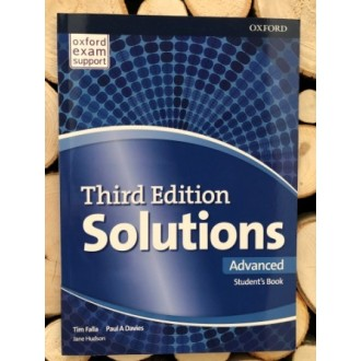 Solutions Advanced Student's Book 3rd edition