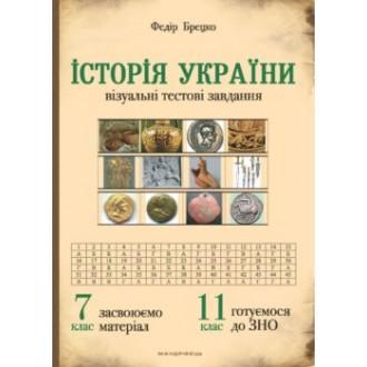 Історія України 7 клас Візуальні тестові завдання