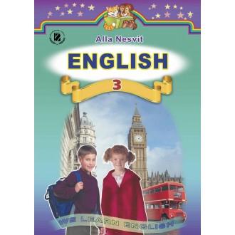 Генеза Англійська мова 3 клас підручник авт. Несвіт