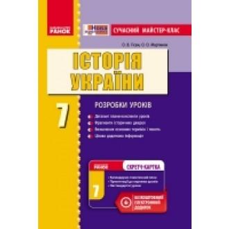 Майстер-клас Історія України 7 клас
