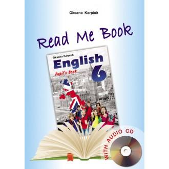 Лібра Терра англійська мова 6 клас Книга для домашнього читання