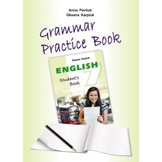 Лібра Терра  англійська мова 7 клас Grammar Practice Book
