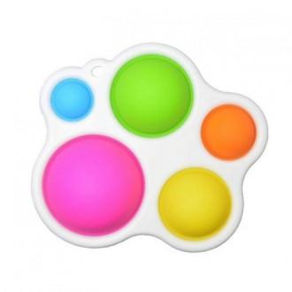 POP IT Simple Dimple Rainbow Spot Іграшка-антистрес (фіолетовий)