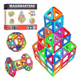 Магнітний конструктор 30 деталей