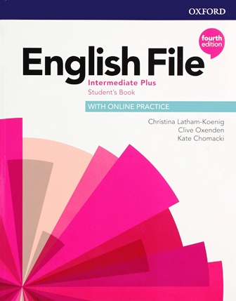 English File 4th Edition Intermediate Plus Student's Book with Online Practice