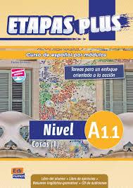 Etapas Plus A1.1 - Cosas (1) - Libro del alumno/Ejercicios + CD