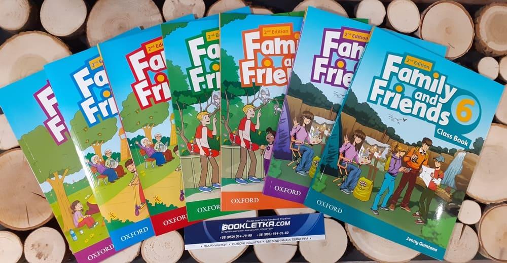 Naomi Simmons family and friends starter 2nd edition - це комплект навчальної літератури початкового рівня, від видавництва Oxford University Press за редакцією Наомі Сіммонс.